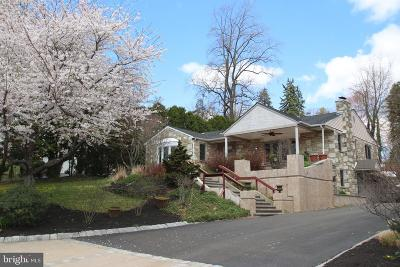 Huntingdon Valley Single Family Home For Sale: 747 Hallowell Drive