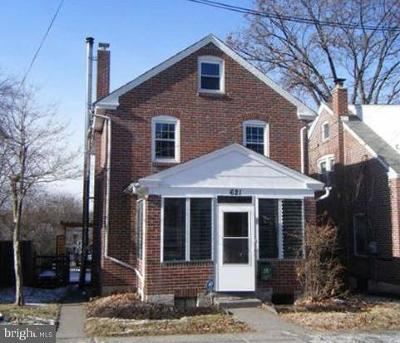 Pottstown Single Family Home For Sale: 621 Spruce Street