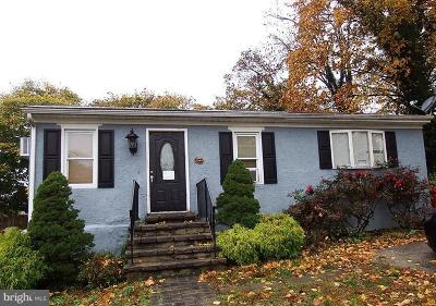 Norristown Single Family Home For Sale: 311 Connor Avenue