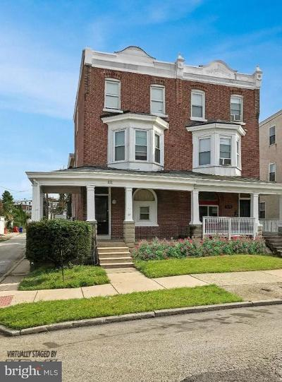 Norristown Single Family Home For Sale: 111 W Wood Street