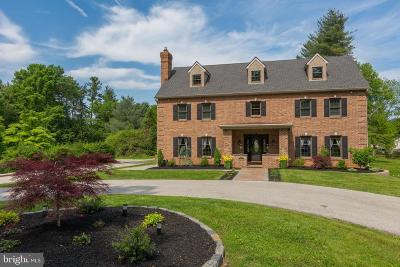 Villanova Single Family Home For Sale: 1939 County Line Road