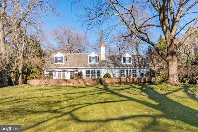 Bryn Mawr Single Family Home For Sale: 707 Pennstone Road