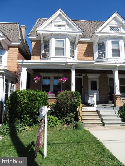 Norristown Single Family Home For Sale: 1213 Markley Street