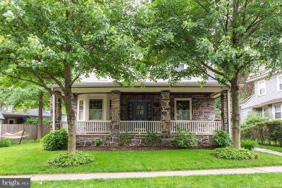 Bala Cynwyd Single Family Home For Sale: 110 Bentley Avenue