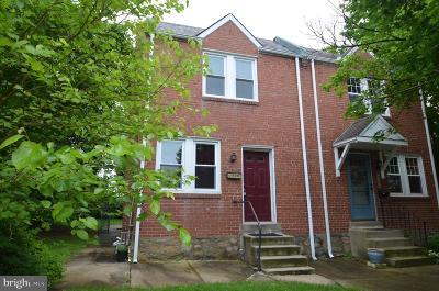 Norristown Single Family Home For Sale: 1520 Juniper Street