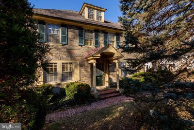 Bryn Mawr Single Family Home For Sale: 133 Pennsylvania Avenue