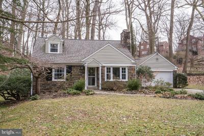 Merion Station Single Family Home For Sale: 613 Lafayette Road