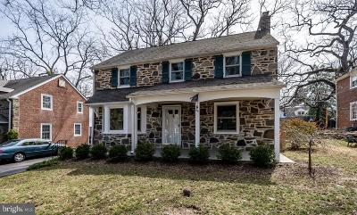 Montgomery County Single Family Home For Sale: 64 W Princeton Road