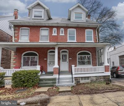 Pottstown Single Family Home For Sale: 783 N Charlotte Street