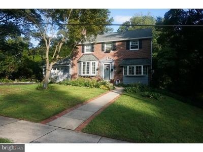 Cheltenham Single Family Home For Sale: 801 Gilbert Road