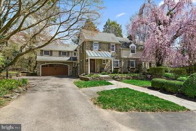Bryn Mawr Single Family Home For Sale: 603 Woodleave Road