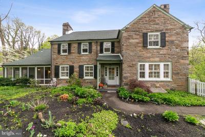 Jenkintown Single Family Home For Sale: 1270 Valley Road