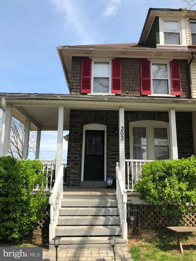 Narberth Single Family Home For Sale: 303 Grayling Avenue