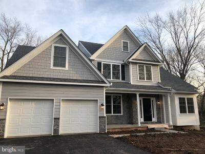 Audubon Single Family Home For Sale: Lot 1 Crawford Estates