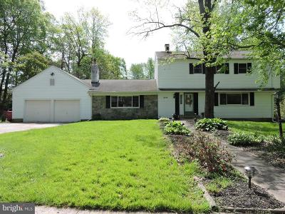 Collegeville Single Family Home For Sale: 3760 Stoughton Road