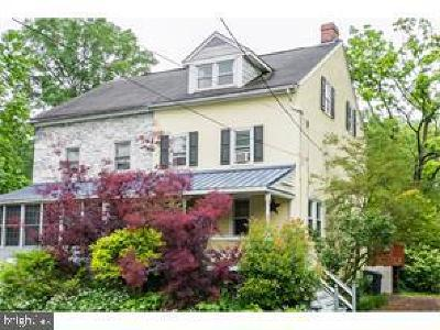 King Of Prussia Single Family Home For Sale: 733 Crooked Lane
