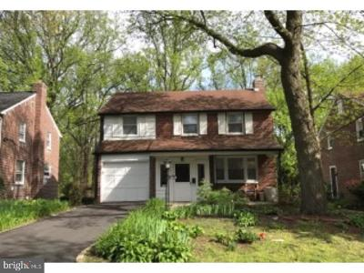 Wynnewood Single Family Home For Sale: 1614 Brookhaven Road