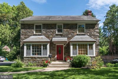 Cheltenham Single Family Home Active Under Contract: 7811 Gayle Road
