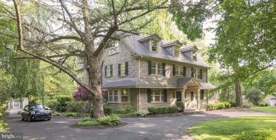 Elkins Park Single Family Home For Sale: 8211 Cedar Road