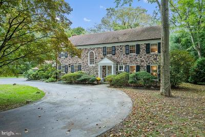 Bryn Mawr Single Family Home For Sale: 355 Thornbrook Avenue