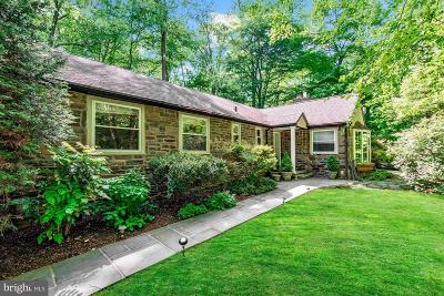 Merion Station Single Family Home For Sale: 630 Lafayette Road