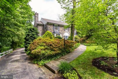 Merion Station Single Family Home Under Contract: 351 N Latches Lane