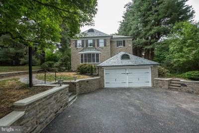Elkins Park Single Family Home For Sale: 1725 Ashbourne Road