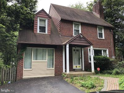 Montgomery County Single Family Home For Sale: 8007 New Second Street