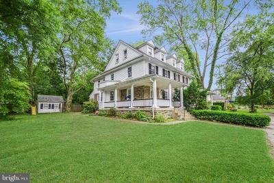 Bala Cynwyd Single Family Home Active Under Contract: 9 Heckamore Road