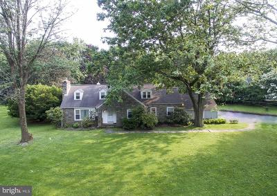 Gladwyne Single Family Home Active Under Contract: 1107 Rock Creek Road