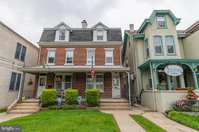 Conshohocken Single Family Home For Sale: 810 Fayette Street