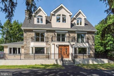Elkins Park Single Family Home For Sale: 1615 Ashbourne Road