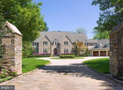 Villanova Single Family Home For Sale: 725 Cedar Lane