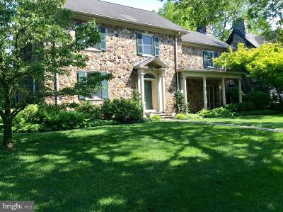 Bryn Mawr Single Family Home For Sale: 130 Fishers Road
