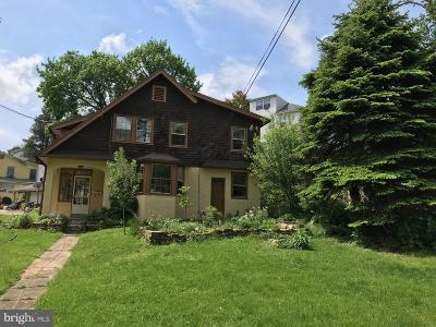 Narberth Single Family Home For Sale: 424 S Woodbine Avenue