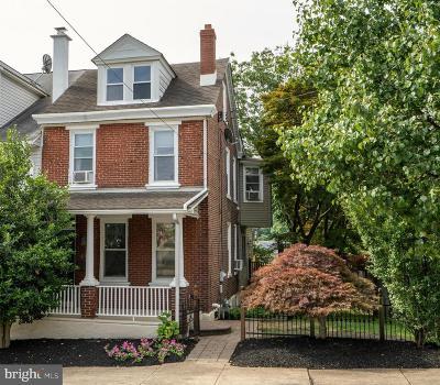 Conshohocken Single Family Home For Sale: 411 Spring Mill Avenue