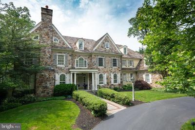 Bryn Mawr Single Family Home For Sale: 1318 Wooded Way