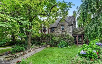 Bala Cynwyd Single Family Home For Sale: 100 Summit Lane