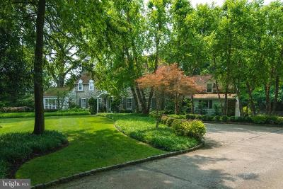 Gladwyne Single Family Home For Sale: 214 Glenmoor Road