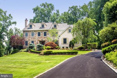 Gladwyne Single Family Home For Sale: 1615 Monk Road
