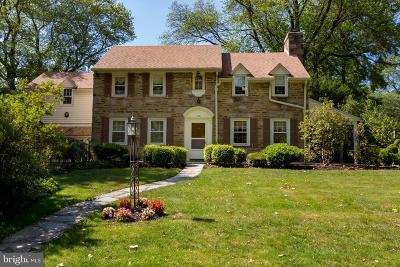 Wynnewood PA Single Family Home For Sale: $635,000