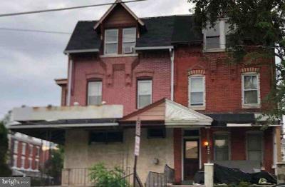 Norristown Single Family Home For Auction: 1525 Arch Street