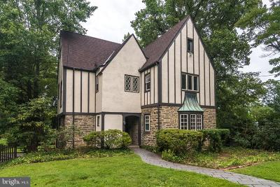Jenkintown Single Family Home For Sale: 944 Rydal Road