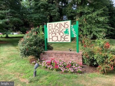 Elkins Park Single Family Home For Sale: 7900 Old York Road #510B