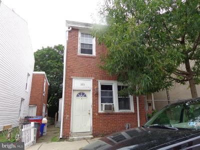 Norristown Single Family Home For Sale: 333 E Marshall Street