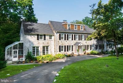 Villanova Single Family Home For Sale: 860 Mount Moro Road