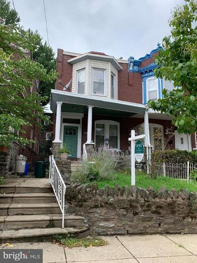 Philadelphia Single Family Home For Sale: 121 W Apsley Street