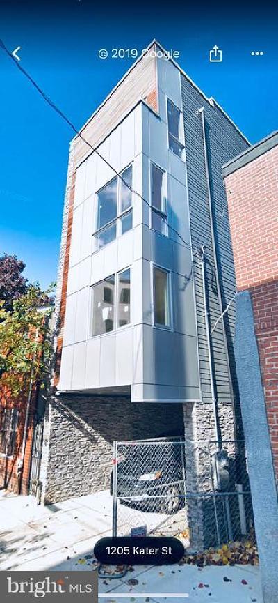 Philadelphia Single Family Home For Sale: 1205 Kater Street