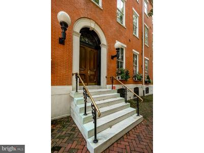 Philadelphia Single Family Home For Sale: 2000-02 Delancey Place #1W