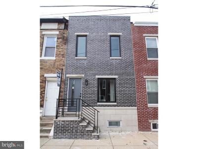 Point Breeze Townhouse For Sale: 1520 S Taylor Street